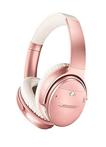 Bose QuietComfort 35 II Wireless Bluetooth Headphones, Noise-Cancelling, with Alexa voice control, enabled with Bose AR - Rose Gold