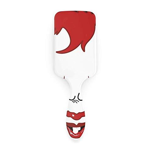 AOOEDM Air cushion comb Clown Clipart Cepillo de pelo con peines con cojín de aire para belleza de niñas