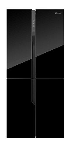 Hisense RQ562N4GB1 nevera puerta lado a lado Independiente Negro 432 L