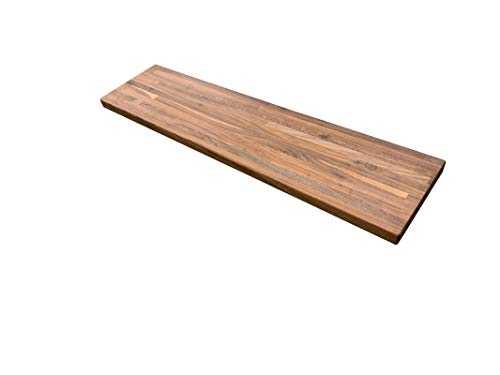 "Forever Joint Walnut Butcher Block Shelf - 1.5"" x 8"" x 18"""