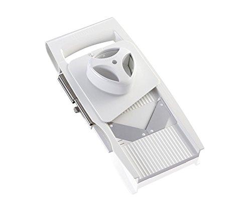 Leifheit ComfortLine Rallador Multiusos 4 + 1, Blanco