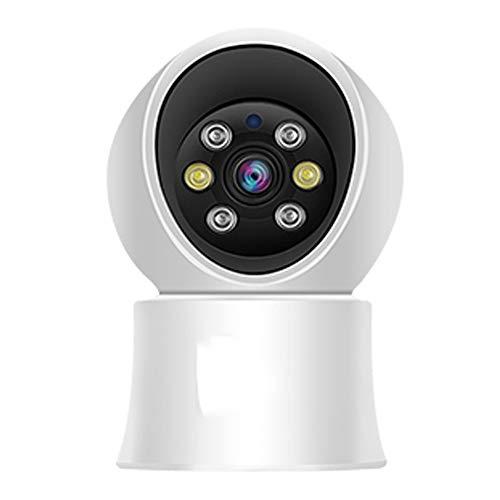 Cámara De Vigilancia Wifi Interior 1080p, Cámara Wifi Con Función De Visión Nocturna, Detección De Movimiento, Audio De 2 Canales, Monitor Para Bebés/Ancianos/Mascotas