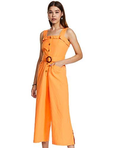 Amazon Brand - Eden & Ivy Women's Cotton Midi Jumpsuit...
