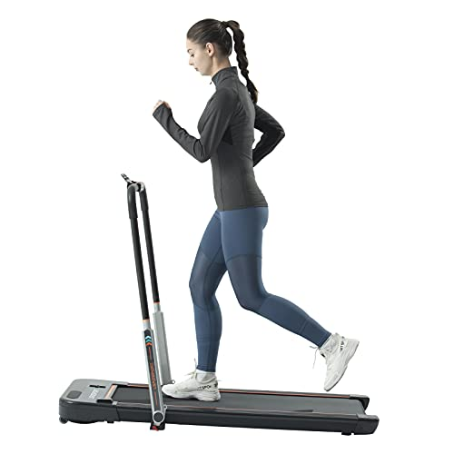 Under Desk Treadmill for Home Folding Office Walking Use Low Noise 240 LB Max Weight with Installation-Free from LSRZSPORT