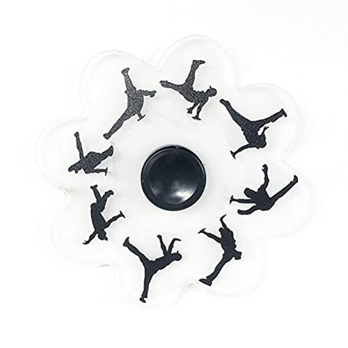 Dan&Dre Fidget Spinner de mano, juguete giratorio, para aliviar el estrés, juguete de descompresión, para niños y adultos