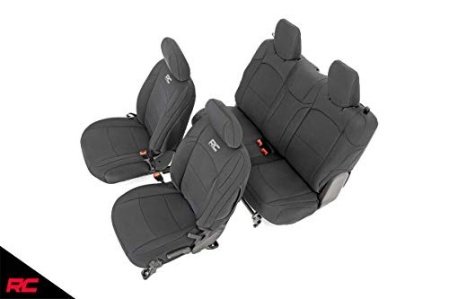 Rough Country 91020 Neoprene Seat Covers 2...
