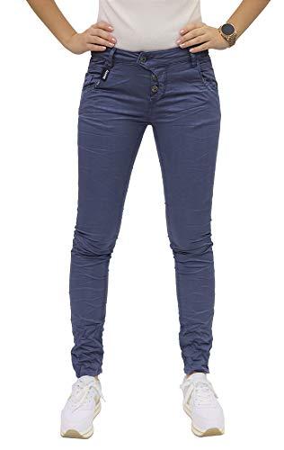 Blue Monkey Damen Manie 10252 Blue Denim Skinny Jeans (W29/L32)