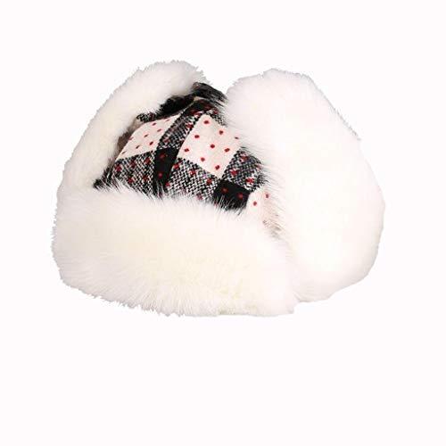 Nosterappou Lei Feng chapeau femelle hiver casquette de ski, bonnet de protection, protection auditive, chapeau de cycliste en coton, épais et chaud coupe-vent à l'intérieur du bonnet étudiant, bonnet