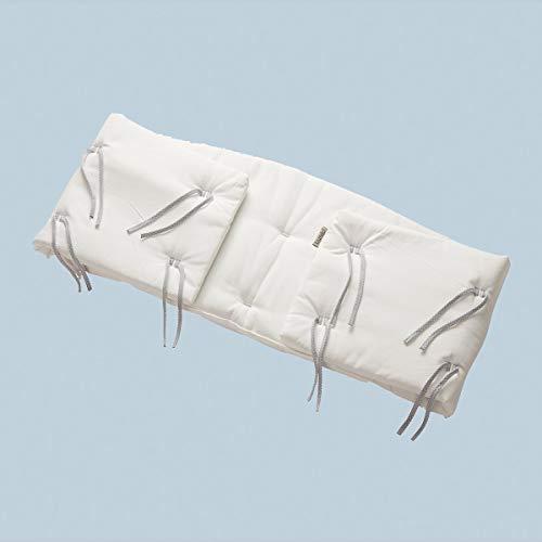 Leander Tour de lit pour lit bébé classique – Snow