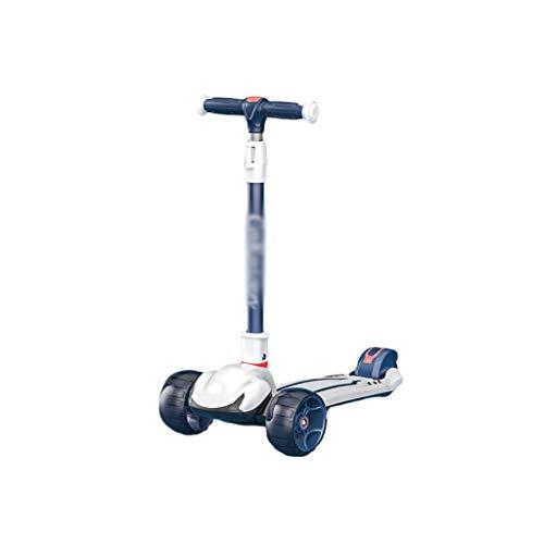 Roller Roller für Kids Kleinkind Verstellbare Höhenklappen-Roller für Kinder Von 2 Bis 12 Jahren Mager, Um Zu...