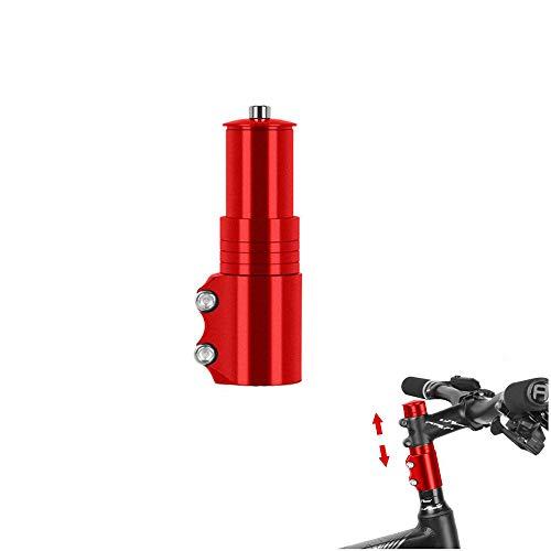 WANLIAN Bicycle Bike Stem Riser Bike Fork Stem Extender Bicycle Handlebar Riser Adaptor Aluminium Alloy Stem Raiser for Mountain Bike, Road Bike, MTB,1 Pcs