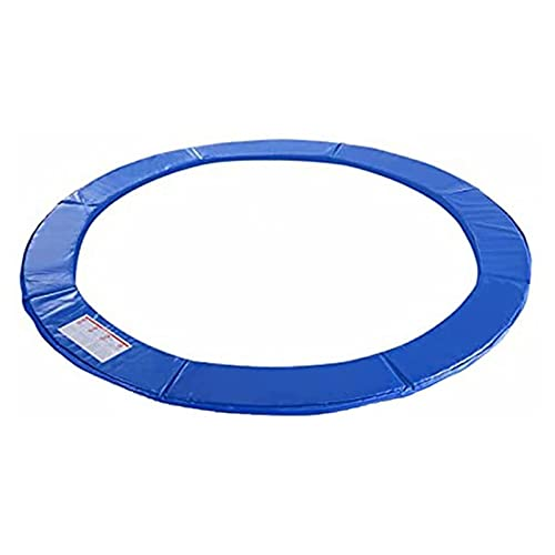 LHQ-puffs Trampoline Pad Protection Cover, Replacement Round Spring Protection Cover Trampoline Safety Pad Mat - Thick Foam Padding,14ft