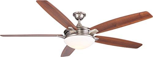 Novato Ceiling Fan Nickel