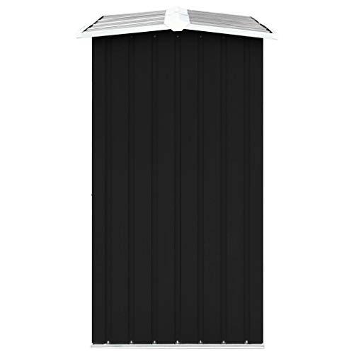 Tidyard Brennholzlager Dachschräge Kaminholzlager Stapelhilfe Kaminholzregal Mit zusätzlichen Rohren auf beiden Seiten,Brennholzschuppen Holzlager,verzinkter Stahl