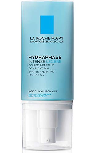 La Roche-Posay Hydraphase Intense Light Face Moisturizer with Hyaluronic Acid 24-hour, 1.69 Fl oz.
