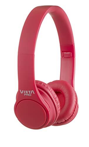 Vieta Pro Wave – Auriculares inalámbricos (Bluetooth, Radio FM, micrófono Integrado, Entrada...