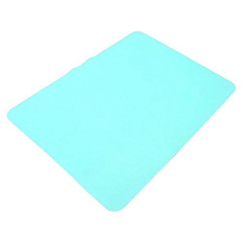 Luwu-Store Tapis de four en silicone pour isolation thermique Couleur aléatoire