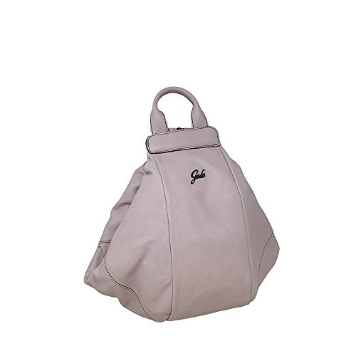 GABS Greta M Transformable Backpack in Soft Leather Pink Woman 34x31x26cm