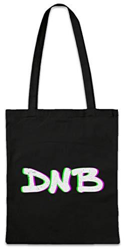 Urban Backwoods DNB Drum \'N Bass Glitch Hipster Bag Beutel Stofftasche Einkaufstasche