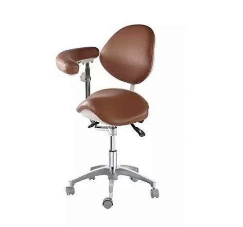 Global-Dental Nurse Saddle Chair Adjustable Mobile Doctors'...