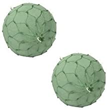 """6"""" Netted Oasis Floral Foam Spheres (Pack of 2)"""