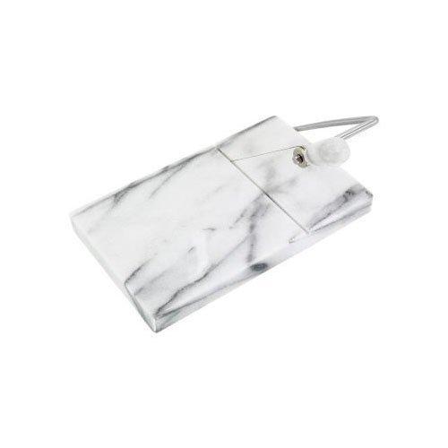 Lucido bianco marmo Facile da pulire Wire Cutter Dimensioni: 21x 20cm