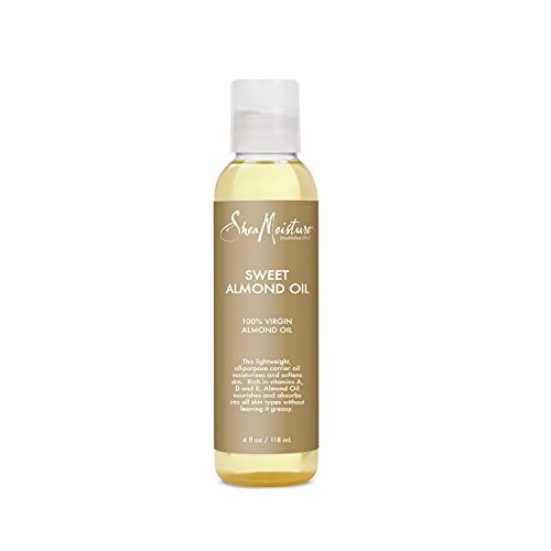 SheaMoisture Body Oil for Dry Skin Sweet Almond Oil Cruelty...