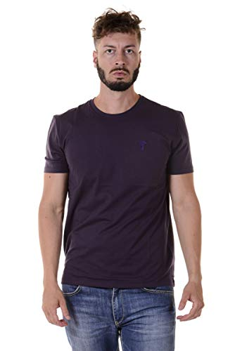 Versace Collection - T-Shirt Uomo V800683VJ00180 Viola M