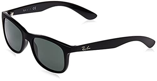 Ray-Ban Rj9062s Gafas de Sol, Matte Black, 48 Unisex-Niño