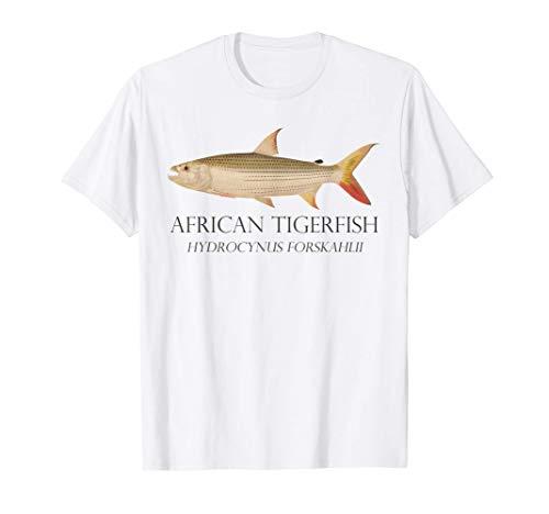Monsterfisch Tigersalmler Tigerfisch Hydrocynus Aquarium T-Shirt