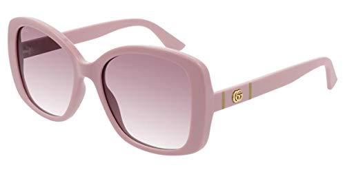 Occhiali da Sole Gucci GG0762S PINK/PINK SHADED 56/18/145 donna