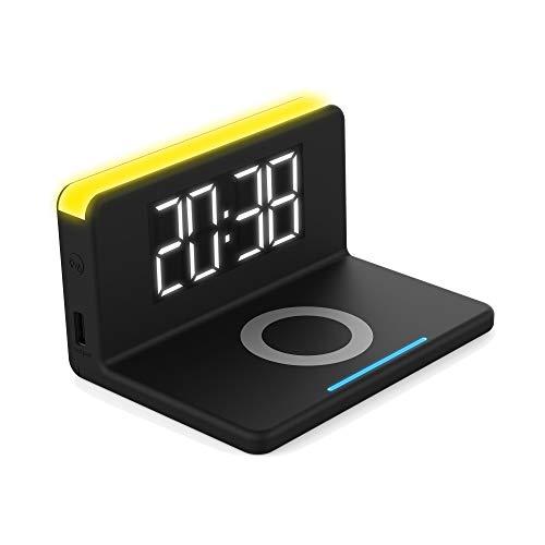 TERRATEC ChargeAir Clock! (wekker + nachtlamp).