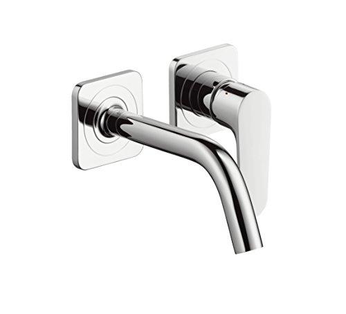 AXOR Wasserhahn Citterio M Unterputz Einhebel-Waschtischarmatur, Auslauf Länge 167mm, Wandmontage, Chrom