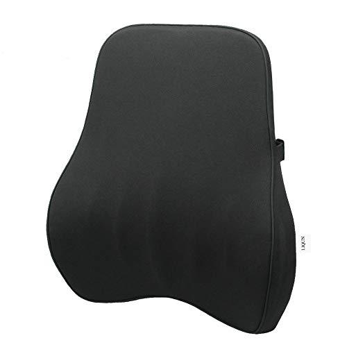 Lumbar Support Pillow, Ergonomic Lumbar Support Pillow Memory Foam Back Cushion, Breathable Mesh Lumbar Support Pillow, for Family car seat and Office Chair, Ergonomic Comfort Memory Foam pad