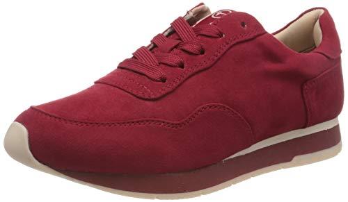 Tamaris Damen 1-1-23615-24 Sneaker, Rot (Lipstick 515), 38 EU
