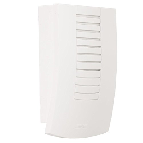 ZAMEL Elektronica-gong deurbel (8 V, max. 80 dB, 1 melodie) wit, SUN10000079
