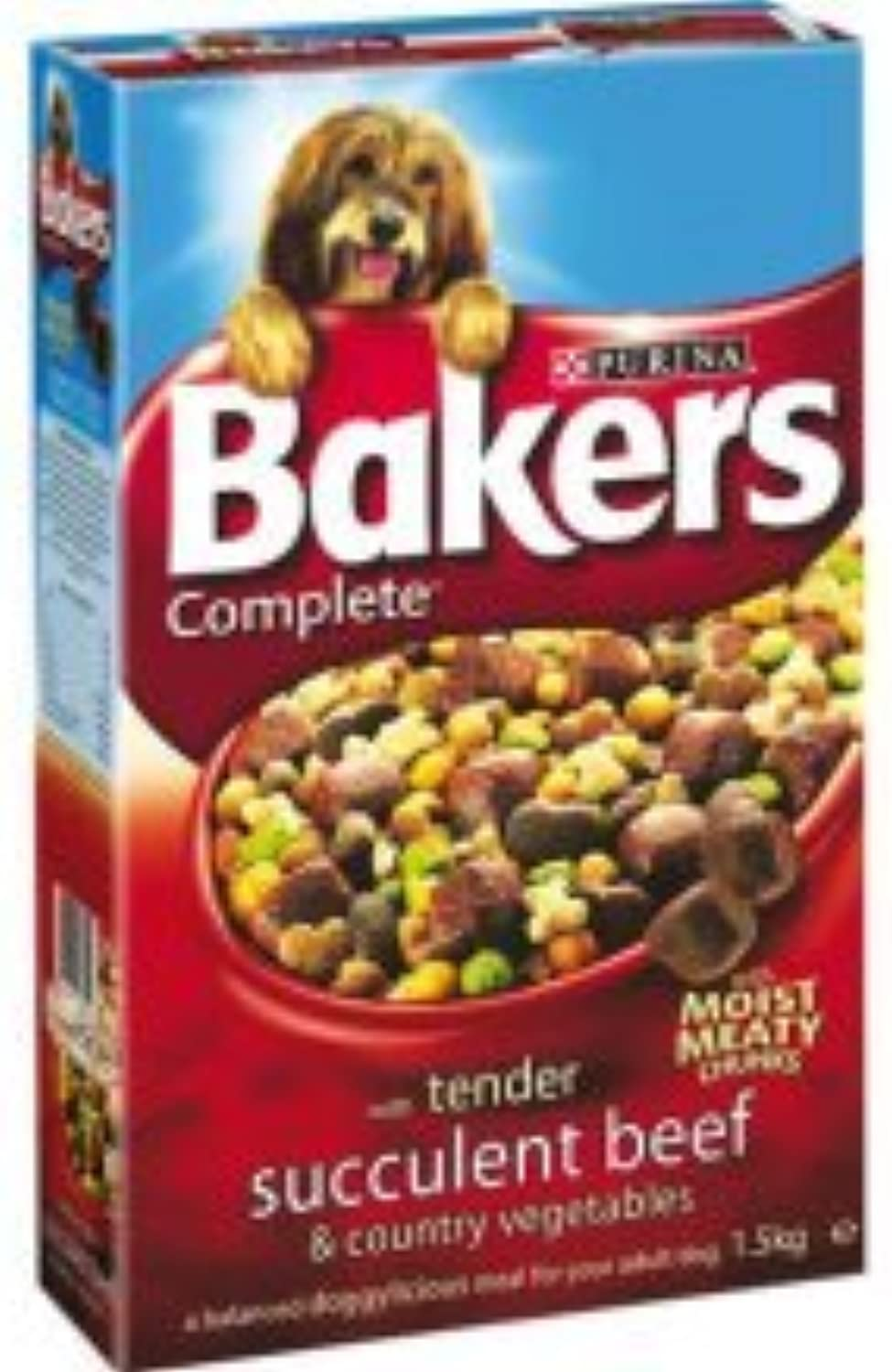 Bakers Complete With Tasty Beef and Country Vegetables 8x1.5kg Packs