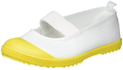 [アキレス] 上履き バレー 日本製 14cm~28cm 2E キッズ 男の子 女の子 HCB 5200 CHB 6300 イエロー 15.0 cm