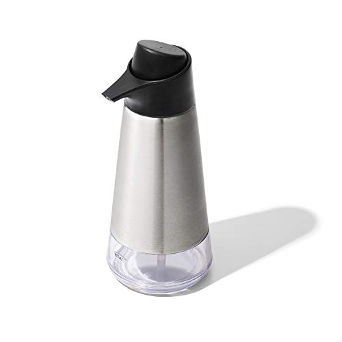 OXO Good Grips Stainless Steel Easy Press Dispenser