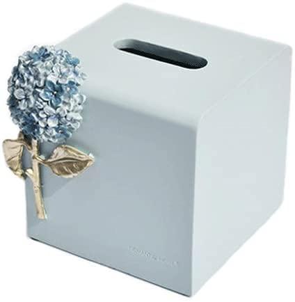 MUZIDP Cuadro de Tejido Decoración de la decoración Europeo Creativo Simple Sala de Estar Caja de pañuelo Caja de la Caja de la servilleta Caja de Tejido