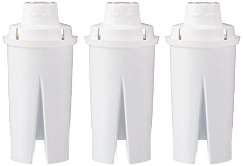 Amazon Basics Replacement Water Filters for Water Pitchers - 3-Pack