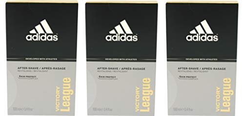 Adidas Victory League After Shave, 3 * 100 ml