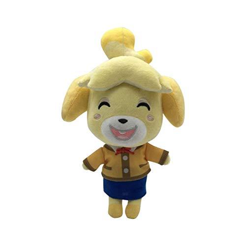 YUTRD Anime Animal Crossing Isabelle Peluche 20 Cm, Kawaii Morbido Bambola di Pezza Giocattoli per Bambini Bambini Regali di Festival