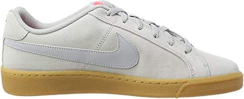 Nike Herren Court Royale Suede Sneaker, Grau (Wolf Grey/wolf Grey-solar Red-gum Light Brown), 43 EU