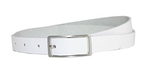 Vascavi - Cinturón - para mujer Weiß 110 cm Longitud Total 120 cm