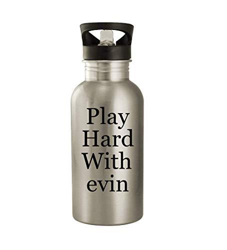 got evin? - 20oz Stainless Steel Water Bottle, Silver
