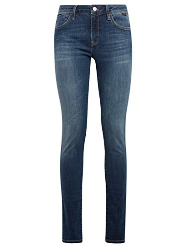 Mavi Damen Adriana Jeans, Dark Indigo STR, 25W / 32L