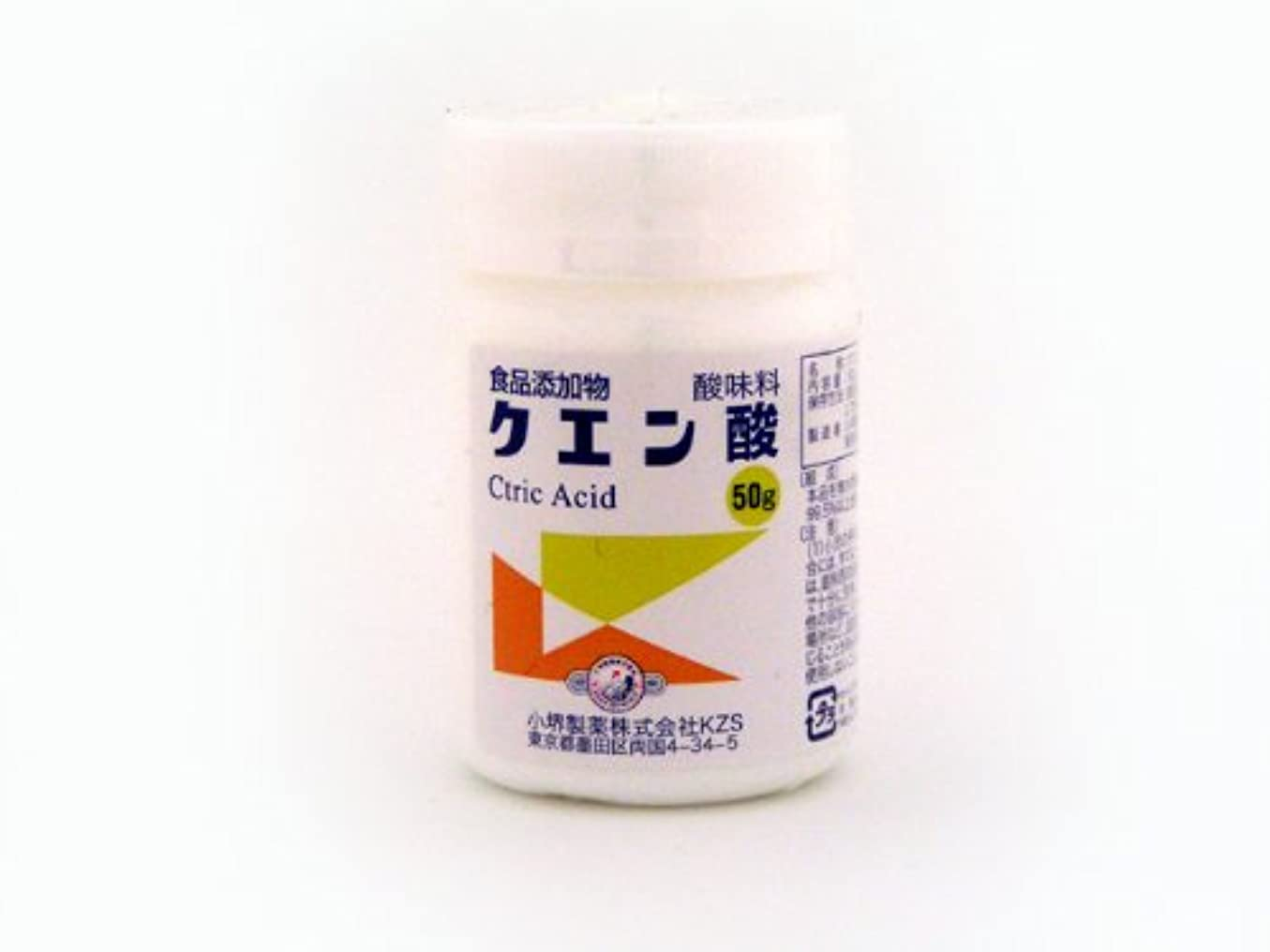 きらめき骨の折れる樹木クエン酸(食添) 50g