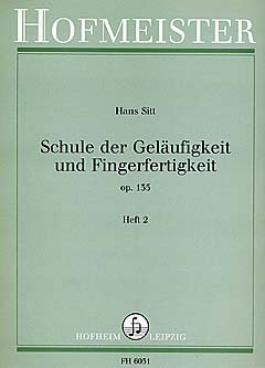 SCHULE DER GELAEUFIGKEIT 2 OP 135 - arrangiert für Violine [Noten / Sheetmusic] Komponist: SITT HANS