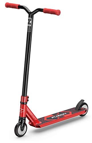 Fuzion X-3 Stunt Scooter -Stunt Roller - Trick Roller Für Kinder (Rot/Red)